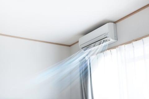 エアコン 冷気