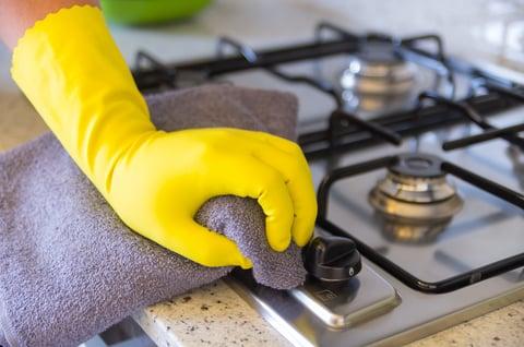 キッチン 掃除 コンロ