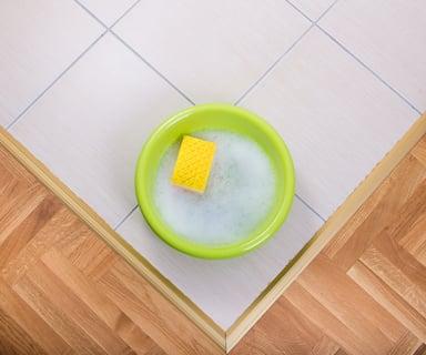 洗面器 道具 掃除 スポンジ 手洗い