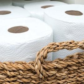 トイレットペーパー 収納 カゴ
