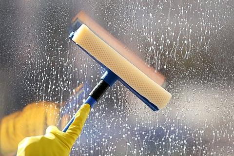 窓 掃除 ワイパー スクイージー