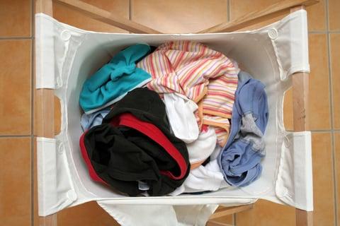 洗濯物 ランドリーバスケット