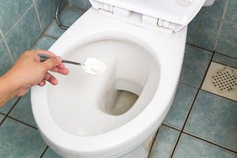 便器 トイレ 重曹 クエン酸