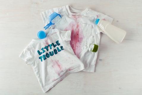 子供服 汚れ 染み抜き ジュース