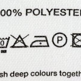 ポリエステル 手洗い 洗濯表示