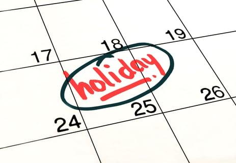 休日に掃除 カレンダー