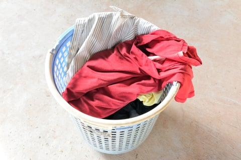 洗濯物 洗濯カゴ