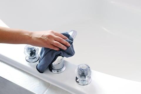 シンク 水栓 蛇口 水垢 掃除
