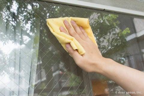 仕方 窓 拭き の
