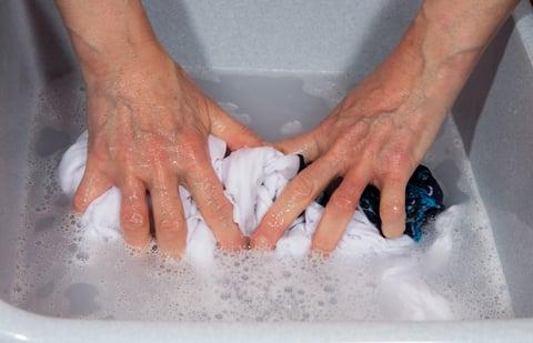 手洗い 押し洗い 洗濯