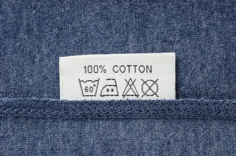 洗濯表示 絵表示 コットン 綿