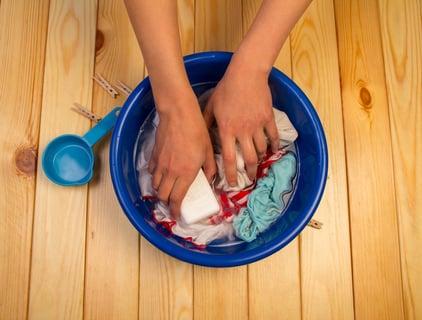 押し洗い 手洗い 洗面器