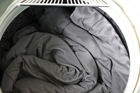 布団を洗濯機で洗う