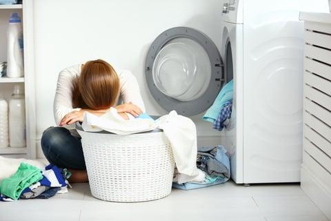 洗濯の失敗