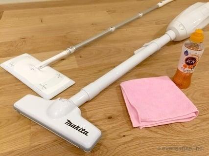 オリジナル フローリング掃除の道具