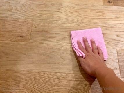 オリジナル フローリング掃除の水拭きの仕方