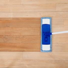 簡単なフローリングの掃除法!たった5分でキレイが続くコツとは?