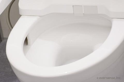 トイレのフチ裏