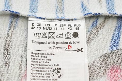 洗濯表示 絵表示
