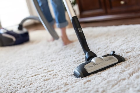 カーペット絨毯に掃除機