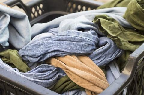 洗濯物 色移り