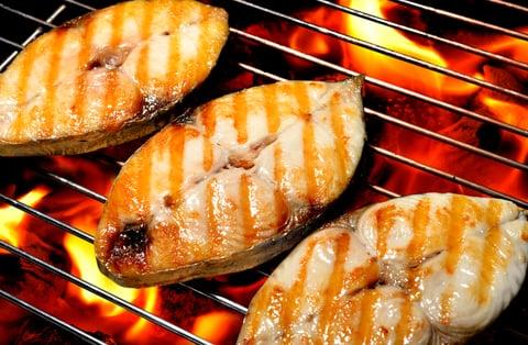 グリル 魚