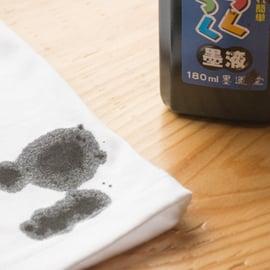 墨汁の落とし方|服についた習字の墨を落とす方法は?
