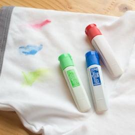 絵の具の洗濯