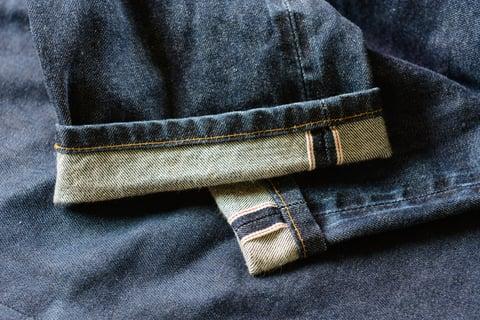 デニム・ジーンズの裾