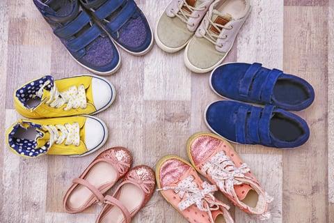 靴の整理 スニーカー パンプス