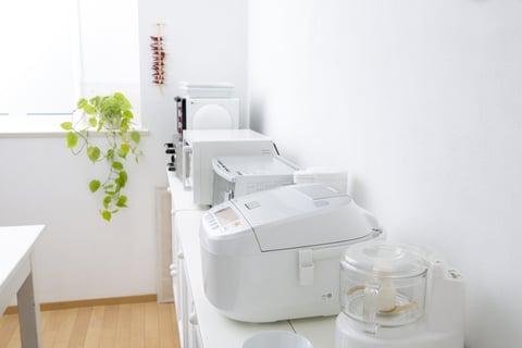 キッチン家電の配置