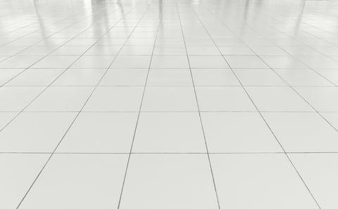 タイルの床