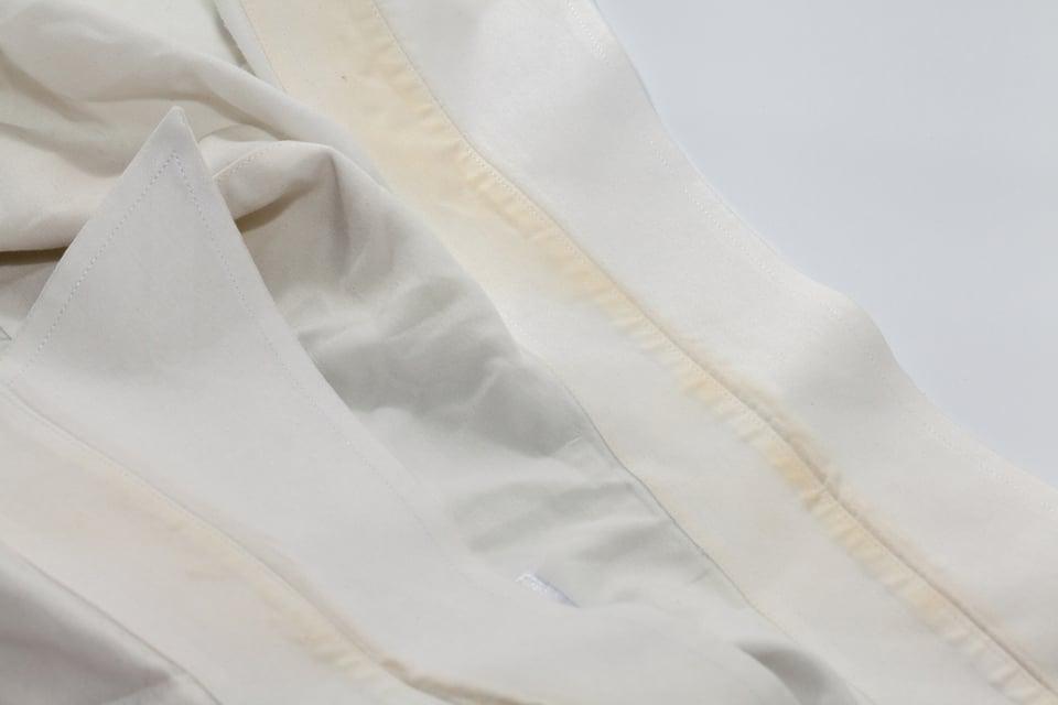 脇 黄ばみ ワイシャツ の