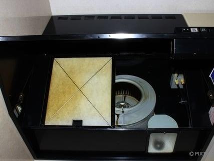 キッチンの換気扇フィルター