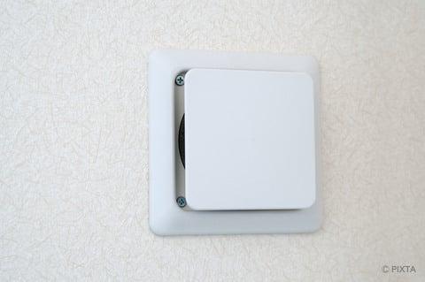 部屋の換気扇