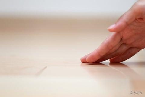 フローリング(床)のホコリ