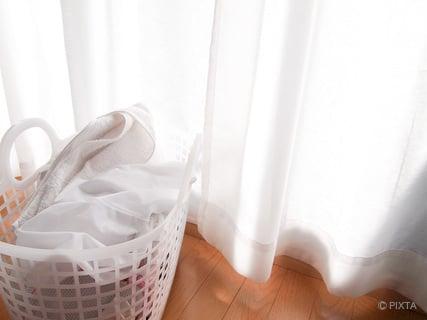 洗濯物を部屋干し 陰干し