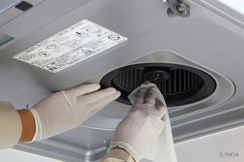 レンジフード・換気扇の掃除
