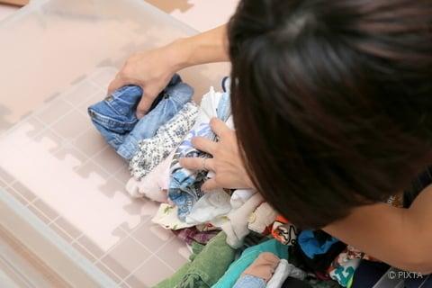洋服の引き出し収納