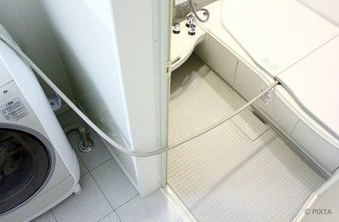 残り湯で洗濯 ドラム式洗濯機
