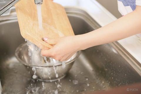 食器洗い まな板