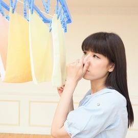 洗濯物の生乾き臭 部屋干し