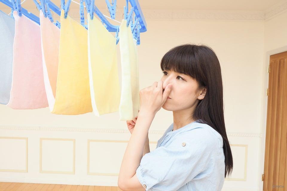 洗濯 物 臭い 取り 方