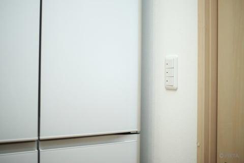 冷蔵庫横のすき間
