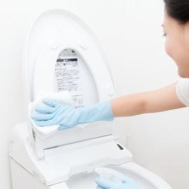 トイレの便座掃除
