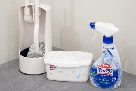 トイレの掃除道具