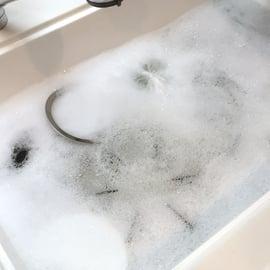 オキシクリーンでキッチン掃除!水回りもコンロもいっきにピカピカ!