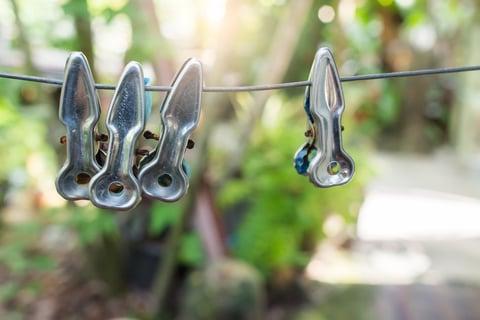 洗濯バサミ ステンレス