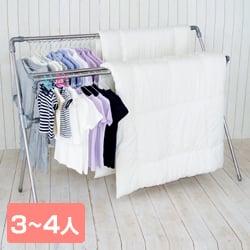 布団 干し 室内 布団干し 伸縮式多機能ふとん干し ダブルバータイプ