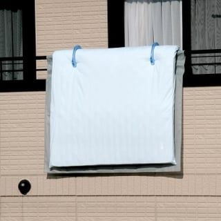 布団 干し カバー シート スベリ止めネット付き ふとん干しシート M
